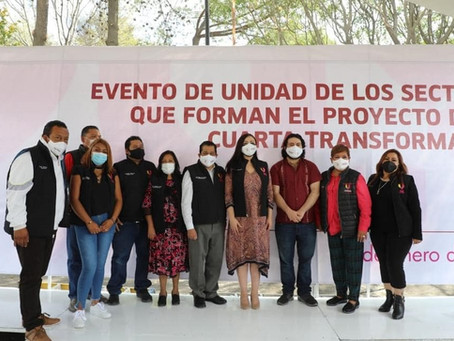 Patricia Durán Reveles, encabeza evento público a pesar de la emergencia por COVID-19