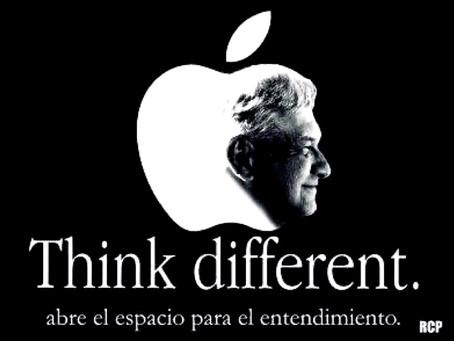 MORENA plagia logotipo de Apple y provoca escándalo en las redes sociales