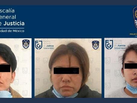 Detienen a padrastro, mamá y abuela, por el asesinato de niña de 4 años en Ciudad de México