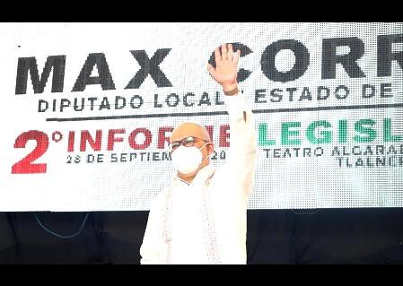 Max Correa Hernández, anuncia toma simbólica del Segundo Piso del Periférico en el Edomex