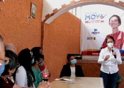 """Angélica Moya enfatiza que """"va para atrás"""" el Plan de Desarrollo Urbano en Naucalpan"""