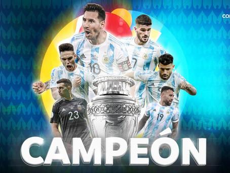¡MARACANAZO! Argentina vence a Brasil y es campeón de la Copa América