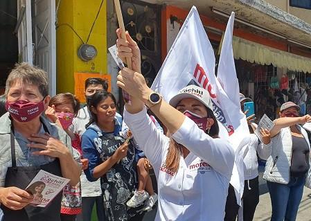 Xóchitl Zagal Ramírez, dará continuidad a sus compromisos desde el Congreso de la Unión