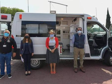 Dudas respecto a la entrega de una ambulancia de Corona Atizapán a Ruth Olvera Nieto
