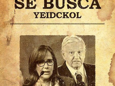 MORENA presenta denuncia penal contra Yeidckol Polevnsky por daño patrimonial y lavado de dinero