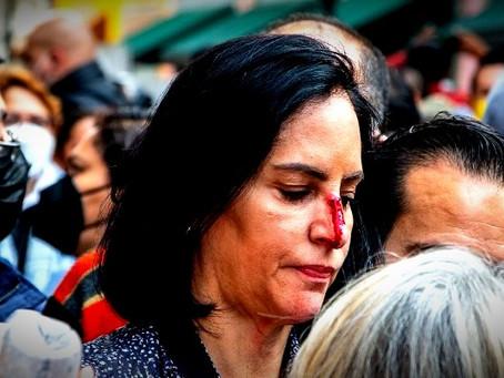 Lía Limón fue agredida en las inmediaciones del Congreso de la Ciudad de México