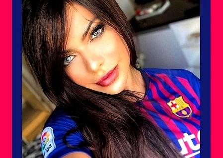 Suzy Cortéz, la fan número uno de Messi…¡te va a dejar sin habla, sin aliento! (Fotos y video)