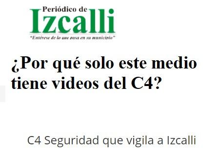 El C4 de Cuautitlán Izcalli, ¿vende información confidencial?