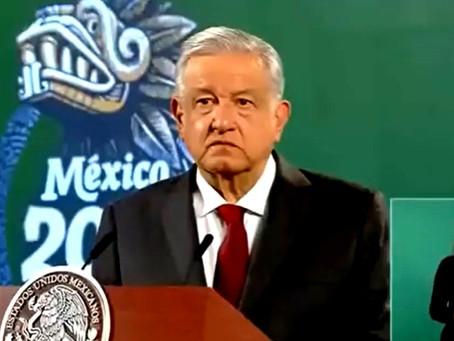 """""""¿Están muy cómodos en su casa?"""", se lanza López Obrador contra las clases a distancia"""