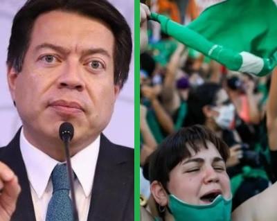 Mario Delgado felicita a Argentina por legalizar el aborto