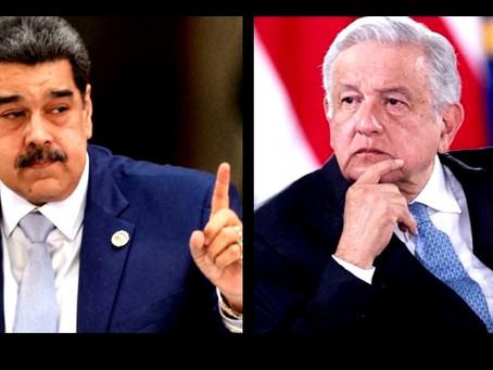 """¿Por qué López Obrador no extraditó a Nicolás Maduro a Estados Unidos?"""