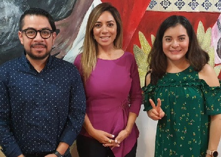 La secretaria de organización de MORENA, Xóchitl Zagal Ramírez, inicia gira nacional