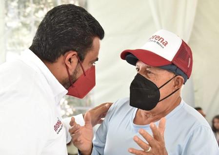 Darwin Eslava promueve  iniciativas para mejorar el suministro de agua potable en Coacalco