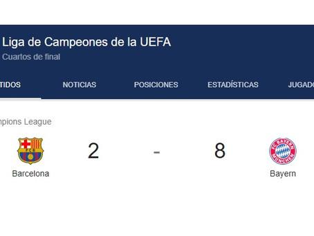 Bayern Munich 8 Barcelona 2