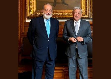 """""""Carlos Slim no es malvado"""", señala Andrés Manuel López Obrador"""