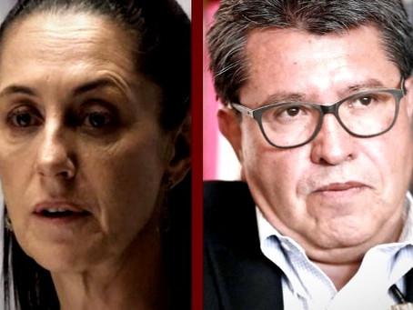 """""""Claudia Sheinbaum, se equivocó; Monreal es un traidor"""": López Obrador"""