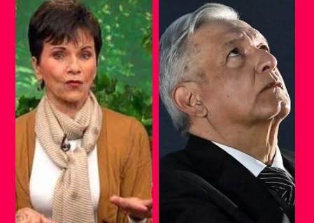 """""""De ese tamaño es su miedo"""", le dice Paty Chapoy a López Obrador"""