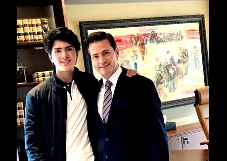 Presentamos a Diego, el guapo hijo de Maritza Díaz Hernández y Enrique Peña Nieto