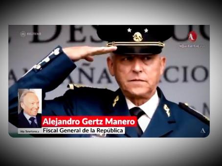 """""""Todavía no puedo decir que son pendejos los de la DEA"""": Alejandro Gertz Manero"""
