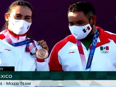 #OLÍMPICOS México gana medalla de bronce en Tiro con Arco