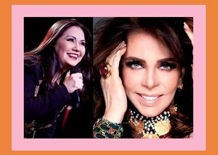 La cantante Ana Gabriel es tendencia por su romance con la actriz Verónica Castro