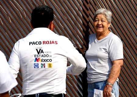 Paco Rojas se pronuncia por recuperar comedores comunitarios y guarderías