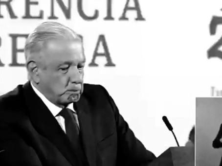 """No quiero pasar a la historia como un presidente mediocre"", señala López Obrador"