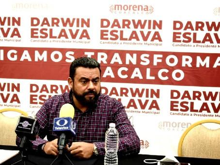 Darwin Eslava solicita la intervención y el apoyo de Mario Delgado