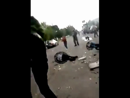 ¡ALERTA! Imágenes del acto terrorista en Salamanca, Guanajuato