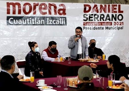 Daniel Serrano Palacios indica que no se tolerará la violencia contra la mujer en Cuautitlán Izcalli