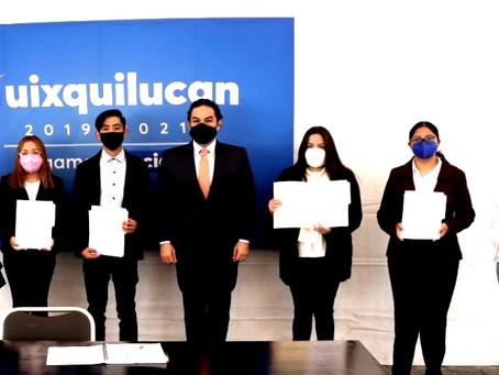 Gobierno de Huixquilucan beca a jóvenes para que estudien en la Universidad Anáhuac