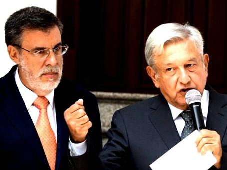 Julio Scherer Ibarra presenta su renuncia a López Obrador, como Consejero Jurídico de la Presidencia