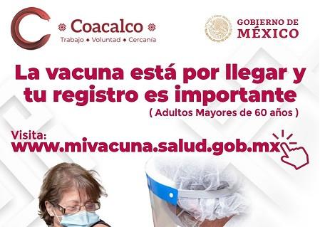 Darwin Eslava exhorta a adultos mayores a registrarse, ante llegada de vacunas contra COVID