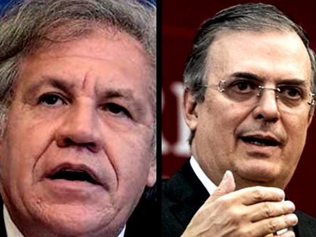 Luis Almagro revive el escándalo de Marcelo Ebrard con el desplome de la Línea 12 del Metro