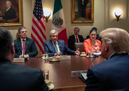 """Un éxito el encuentro de Andrés Manuel López Obrador con Donald Trump"": Manuel Martínez Justo"