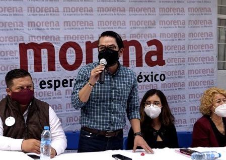 """""""Debemos sacar a MORENA del inmovilismo"""", afirma el líder mexiquense Daniel Serrano Palacios"""