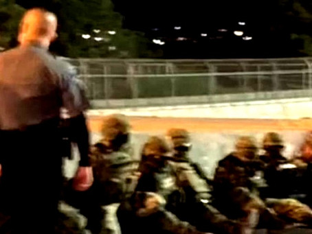 Militares mexicanos son detenidos por la aduana en el Puente Internacional Ciudad Juárez-Paso Texas