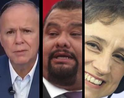 """""""Patético papel de Ciro Gómez Leyva"""", acusa Carmen Aristegui"""