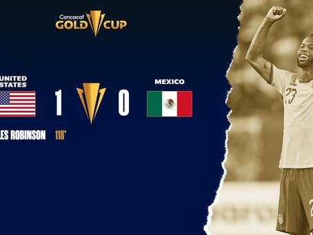 ¡Rídículos! La Selección Mexicana de Fútbol, pierde la Copa Oro ante la Sub de Estados Unidos