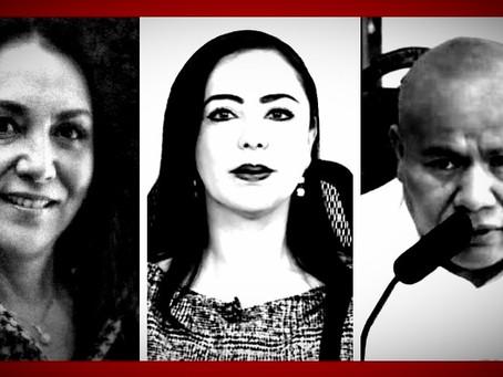 Gabriela Gamboa Sánchez, Patricia Durán Reveles, Raciel Pérez Cruz, en la mira de la LXI Legislatura