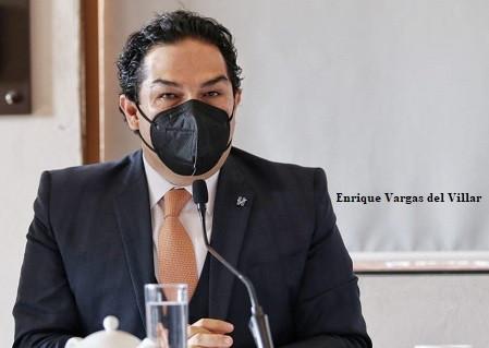 """""""Trabajo conjunto ayudará a sacar adelante al país"""": Enrique Vargas del Villar"""