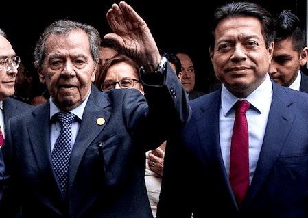 """""""Asumo la presidencia de MORENA el lunes"""", afirma el siempre aguerrido Porfirio Muñoz Ledo"""