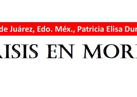 Patricia Durán Reveles y MORENA, están a un paso de perder la alcaldía de Naucalpan