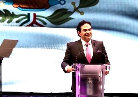 """Enrique Vargas del Villar, hizo que Huixquilucan fuera atractivo a nivel nacional"": Marcos Salame"