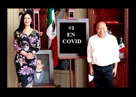 Naucalpan y Tlalnepantla, aportan más de 12 mil contagios y mil defunciones por COVID-19