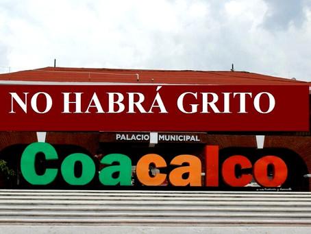 Coacalco suspende festejos patrios para prevenir contagios COVID-19