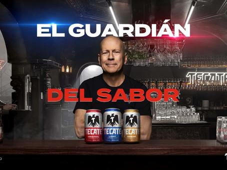 ¡Bruce Willis estelariza el Guardián del Sabor, de Tecate®!