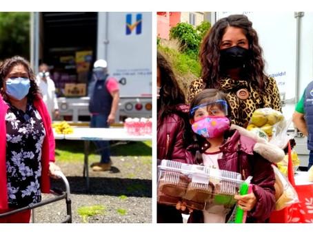 DIF Huixquilucan ha otorgado más de 220 mil productos alimenticios a familias afectadas por el COVID
