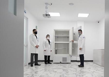 Huixquilucan tiene listo el Ultracongelador para almacenar 100 mil vacunas contra COVID