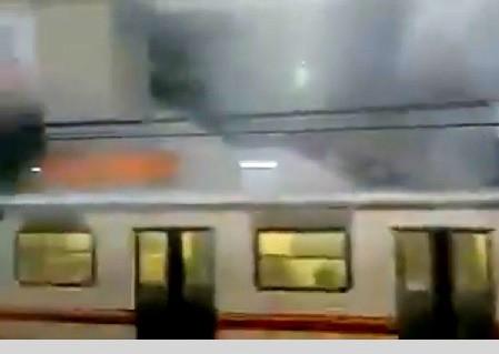 Nuevo siniestro en la Estación Pantitlán del Metro de la Ciudad de México